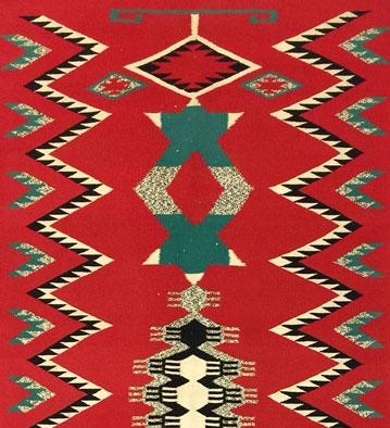 Navajo Weavings, Pueblo Pottery, Baskets, and Furniture
