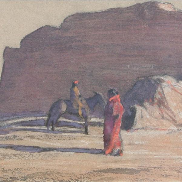 Maynard Dixon Drawings and Watercolors