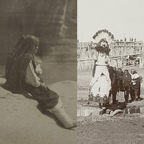 The Western Vision of Edward Curtis and Ben Wittick