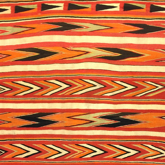 Time of Change - Navajo Transitional Weavings 1885-1910