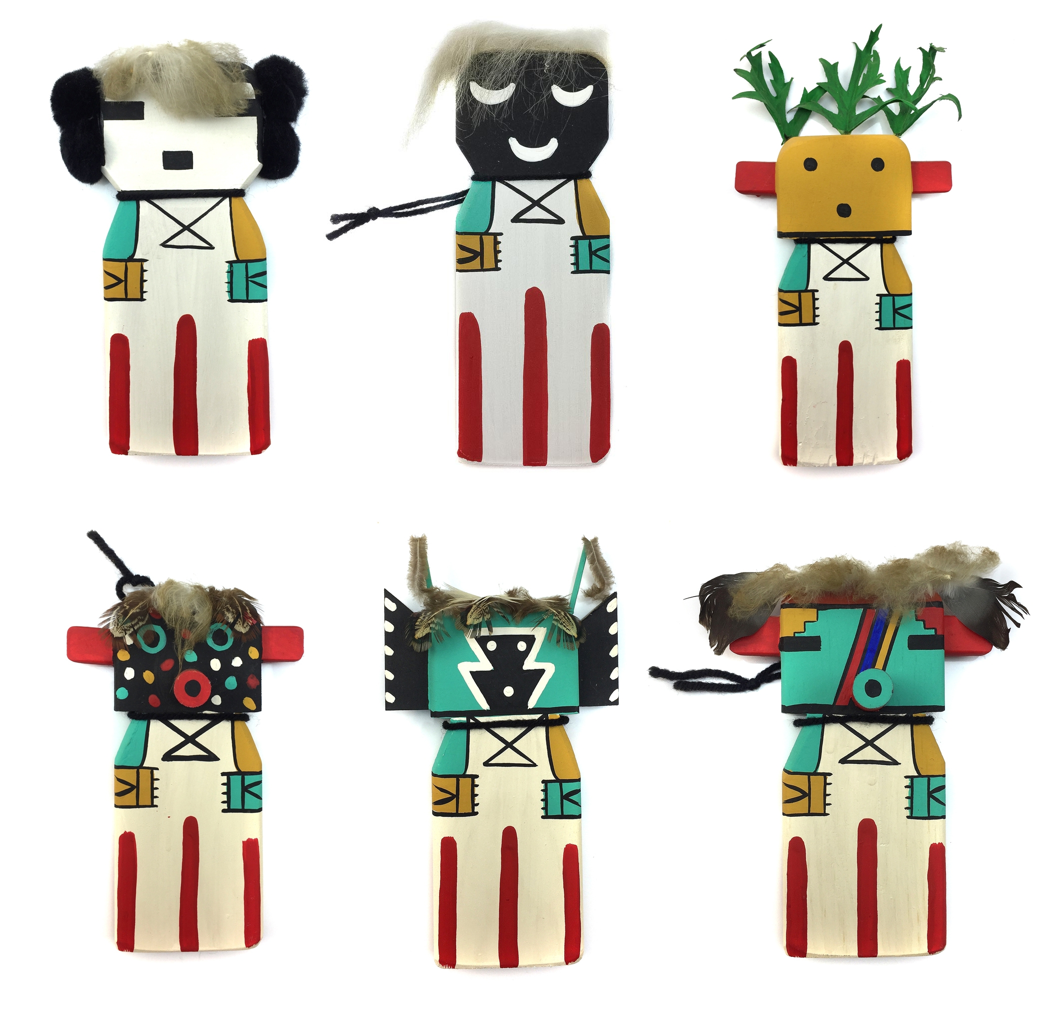 Stocking Stuffer Sale - Kachinas by Ted Puhuyesva - 10% to 30% Off