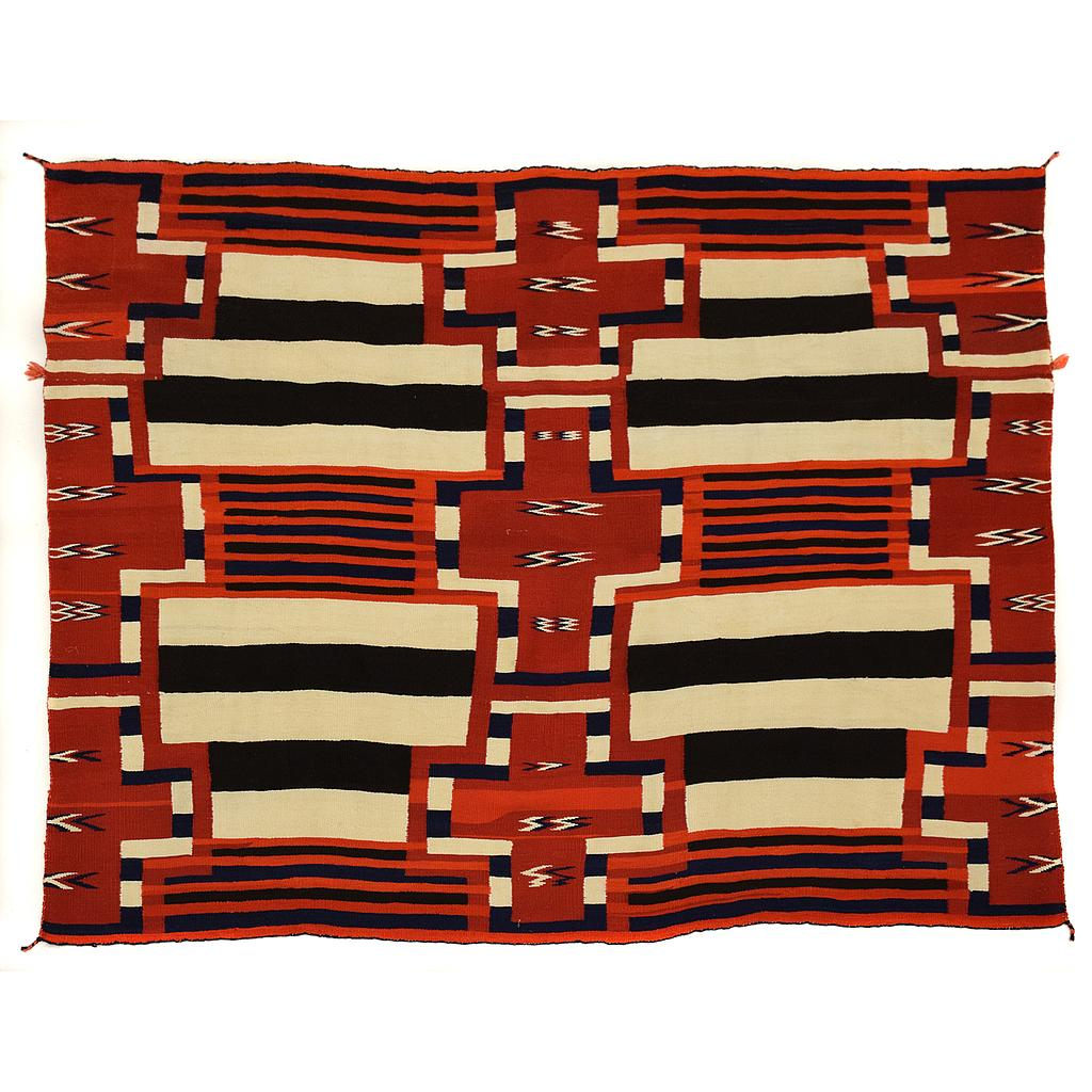 Navajo Late Classic Third Phase Chief S Blanket With