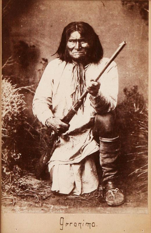Chiricahua Apache Indian Geronimo Cabinet Card Geronimo