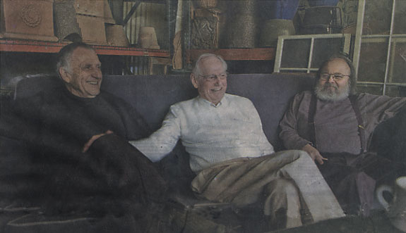Three men considered among the finest painters to hail from Sacramento - from left, Gregory Kondos, Wayne Thiebaud and Fred Dalkey - gathered in town on a rare occasion to reminisce about their painting careers, their friendship and each man's role in the acclaimed Sacramento City College art program through the years.