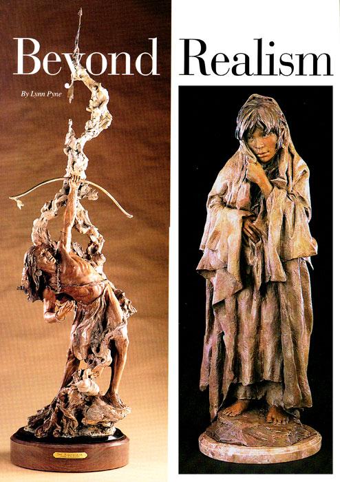 "Left: John Coleman, CA, The Rainmaker, Bronze Edition of 9, 10.5  Right: John Coleman, CA, Tais Trade II, Bronze Edition of 35, 21"""