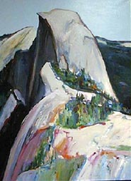 Gregory Kondos, Half Dome