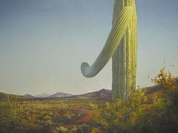 "P. A. Nisbet, The Portal, Oil on Canvas, 38"" x 50"""