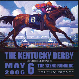 2006 Kentucky Derby, done before the race, magically portrayed a horse with the real winning number. More Gypsy juju?