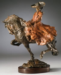 "Jan Mapes, Escalarta, Bronze Edition of 21, 11.5"" x 11.5"" x 5"""