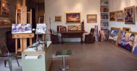 Mell's downtown Phoenix studio.