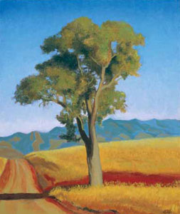 "Gary Ernest Smith, Arizona Oak, oil on linen, 20"" x 24"""