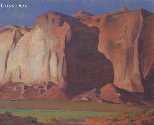 """Glenn Dean, Desert Giant, Oil, 40""""x48"""""""