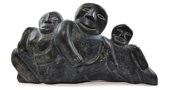 Inuit Soapstone Sculptures - Collection Over 80