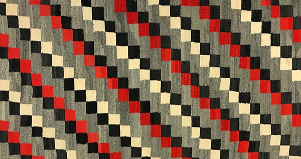 Early Beadwork, Basketry, Paintings, and Navajo Rugs