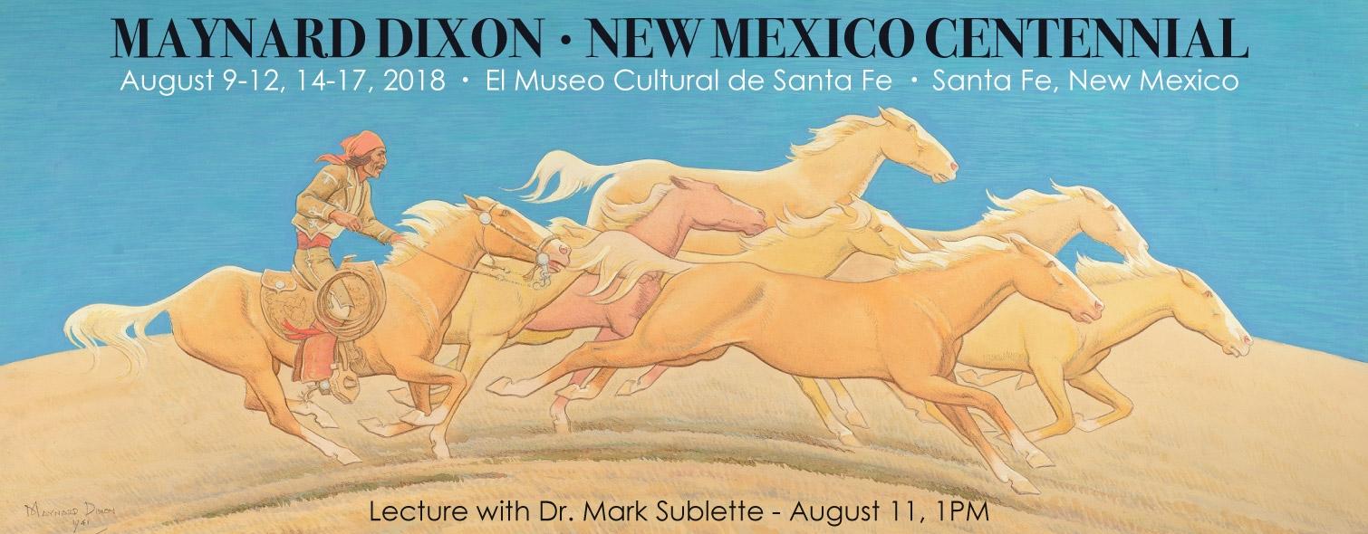 Maynard Dixon New Mexico Centennial