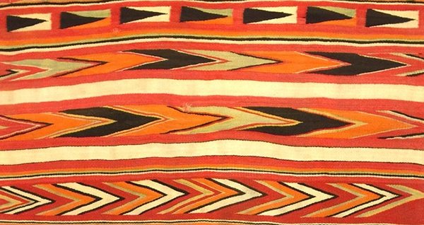 Time of Change Navajo Transitional Blankets