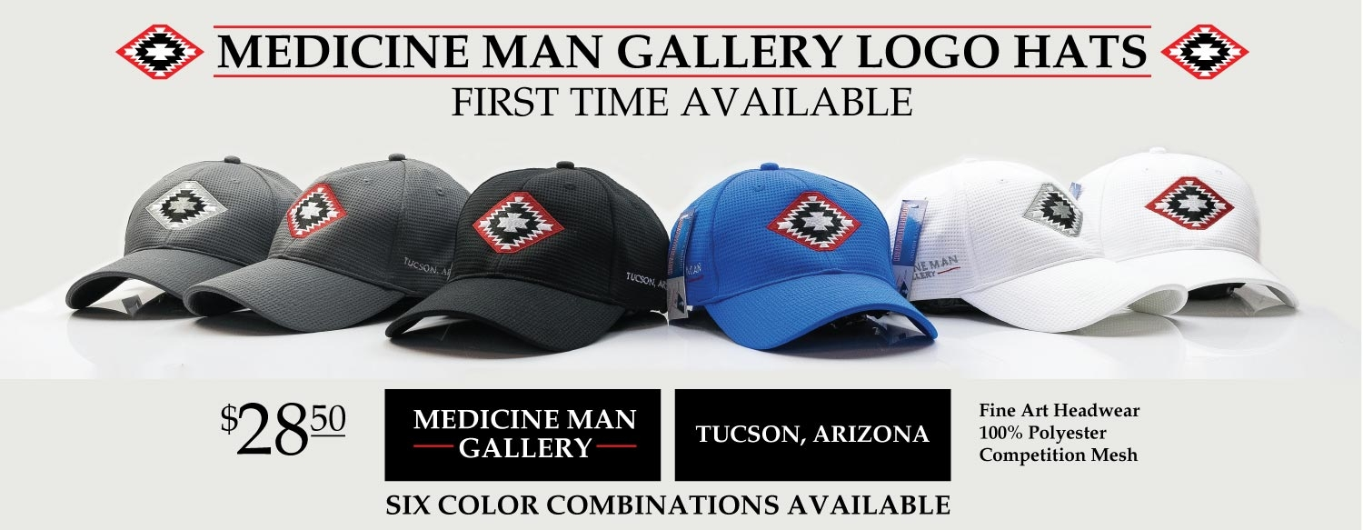 Medicine Man Gallery Logo Hats