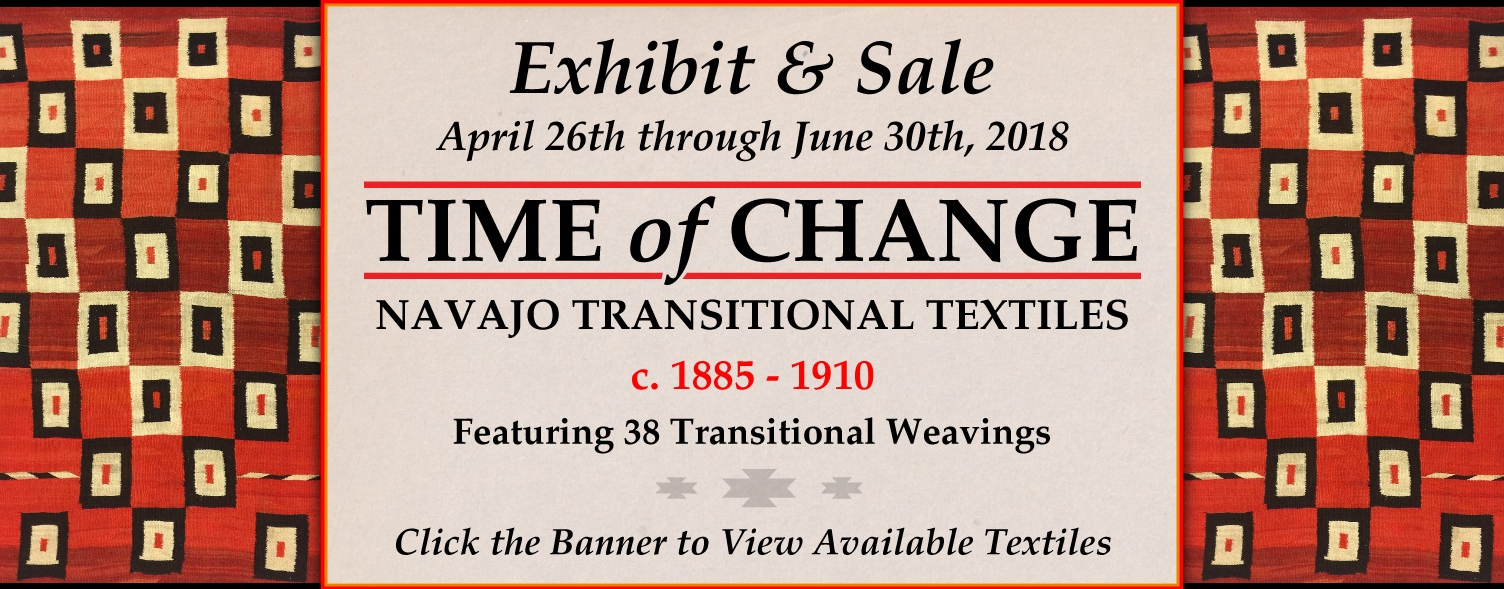 Time of Change - Navajo Transitional Textiles