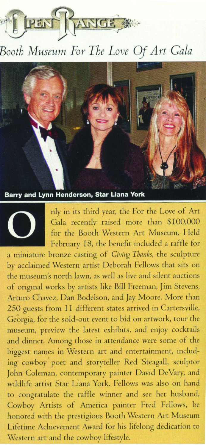 Barry and Lynn Henderson, Star Liana York