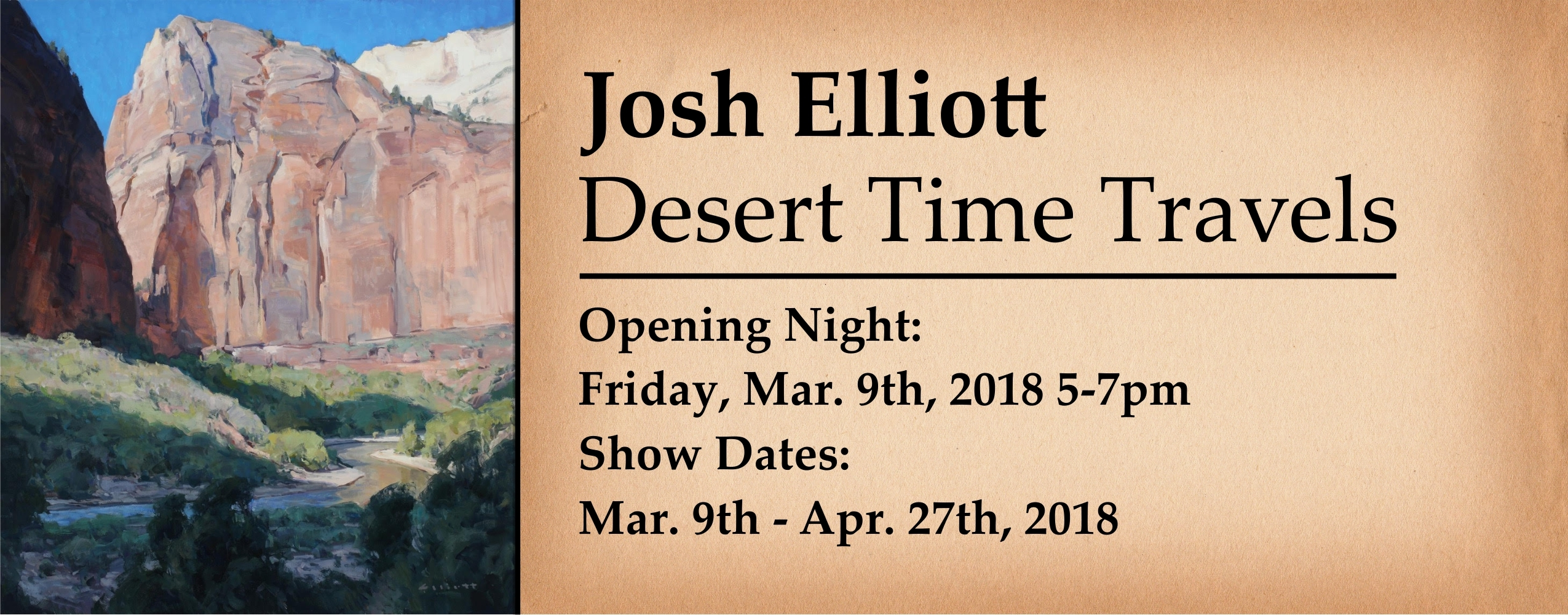 Josh Elliott Desert Dreams