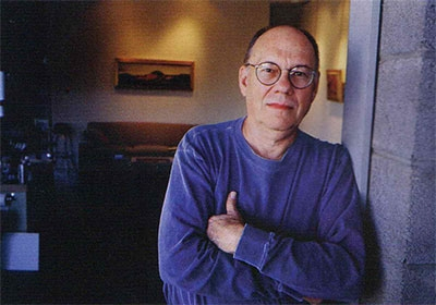 Ed Mell in his Phoenix Studio Photograph by Dan Budnik