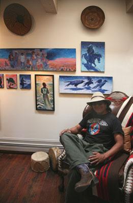 Shonto Begay, Navajo Painter