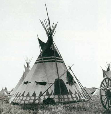 Sharp had hundreds of teepee photographs.