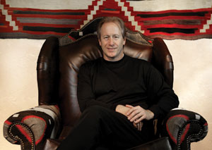 Dr. Mark Sublette, owner of Medicine Man Gallery.  Photo by Meghann Eppstein