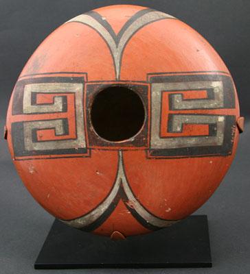 """Nampeyo, Hopi jar, c. 1910, 3"""" x 7.5"""""""