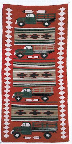 Navajo Truck Pictorial Runner