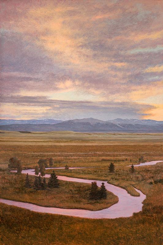 Aeling Sunset on Buffalo Peaks CO