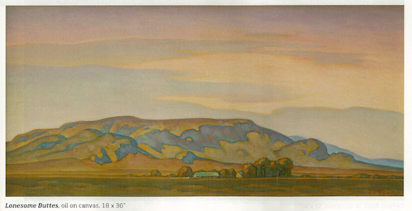 Howard Post, Lonesome Buttes