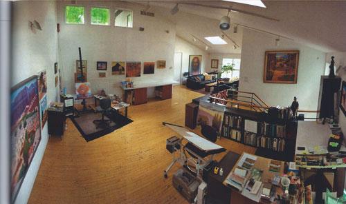 Gary Ernest Smith's Studio