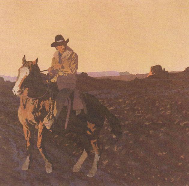 """Billy Schenck, Untitled, Oil on Canvas, 50"""" x 80"""", 1973"""