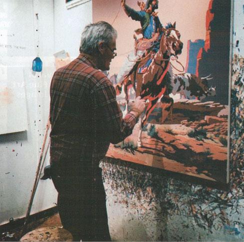 Schenck in studio