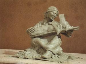 Susan Kliewer, Shima, work in clay