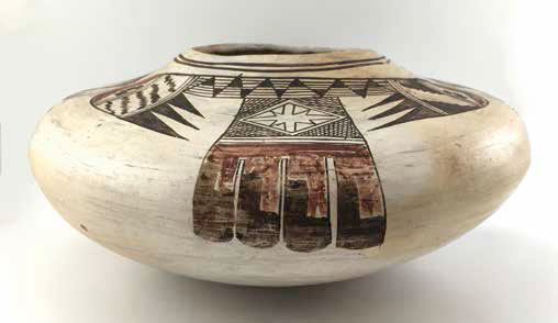 Nampeyo Old Lady of Hano, Hopi jar, ca. 1900-1910, 52/5 x 11""