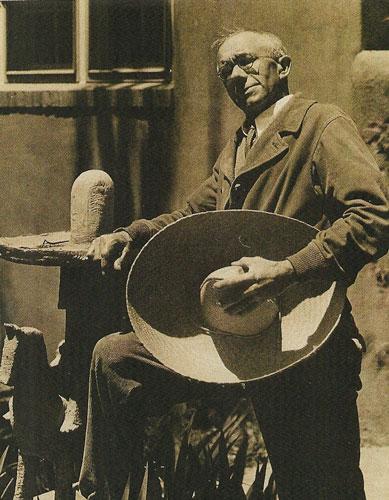Gustave Baumann, Santa Fe, NM 1932