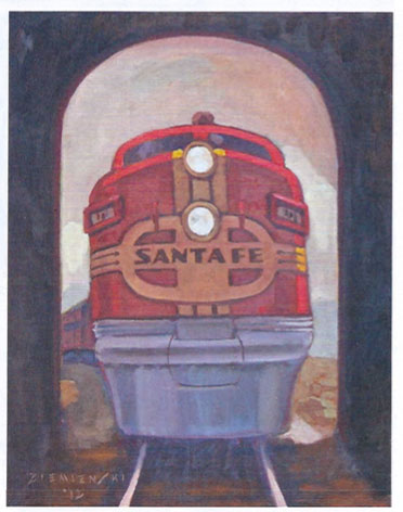 Ziemienski Santa Fe Train