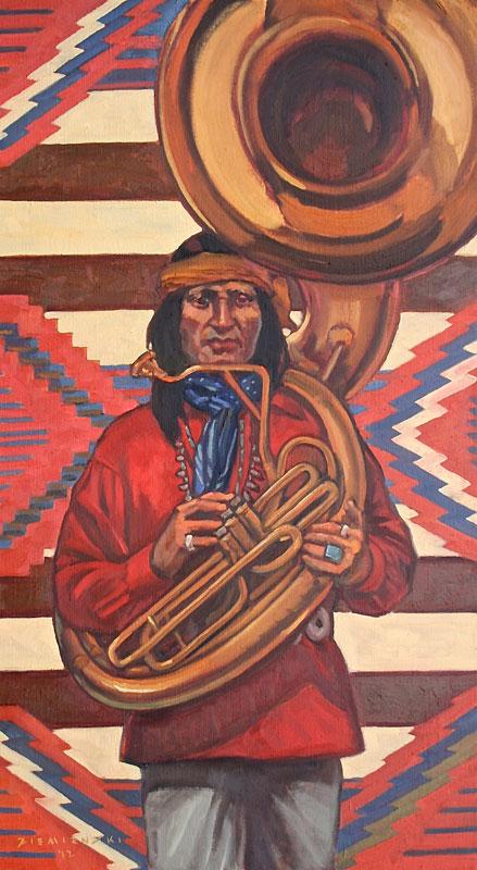 D Ziemienski Sousaphone