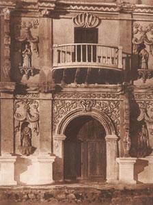 "Edward Sheriff Curtis, Portal San Xavier del Bac, Plate Number 52, Framed Photogravure, circa 1907, 17"" x 13"""