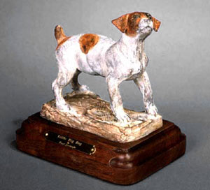 "Veryl Goodnight, Little Big Dog, Bronze Edition of 50, 6"" x 4"" x 6"""