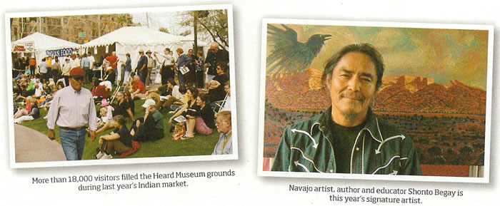 Shonto Begay, Western Art Collector, March 2011