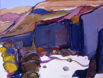 """Gregory Kondos, Canyon de Chelly, Oil on Canvas, 18"""" x 24"""""""