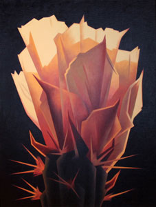 "Ed Mell, Sunrise Bloom, Giclee, 30"" x 22.5"""
