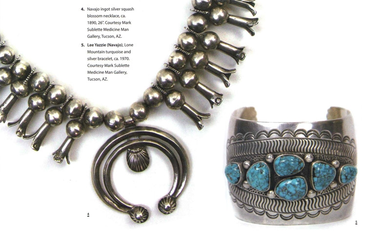 navajo squash and bracelet