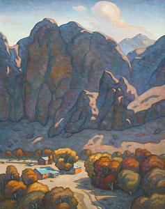 """Howard Post, Changing Season, Oil on Canvas, 60"""" x 48"""""""