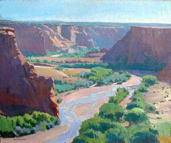 """Ray Roberts, Tsegi Overlook, Oil on Canvas, 25"""" x 30"""""""