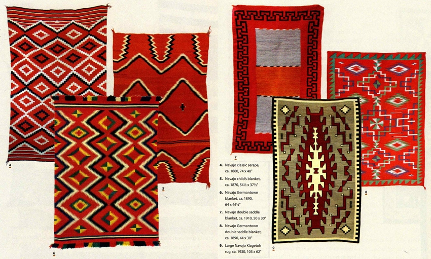 Collecting Navajo Rugs Native American Art April 2017 Medicine
