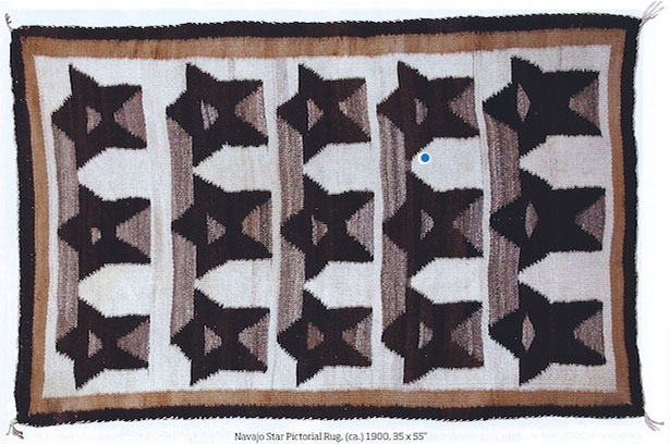 Navajo Star Pictorial Rug